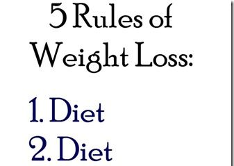5 Rules of Weight Loss with a Giveaway