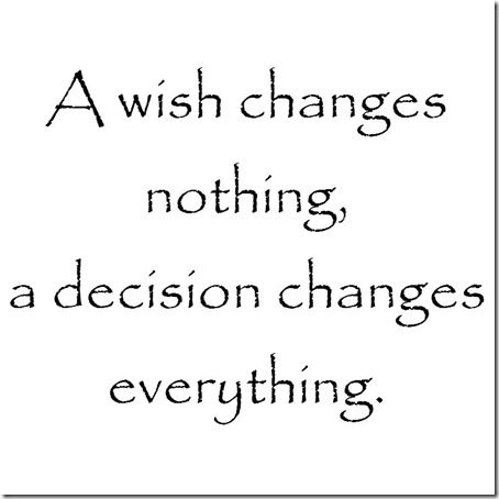 a wish changes nothing