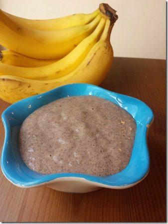 banana chia protein pudding recipe gluten free healthy vegan