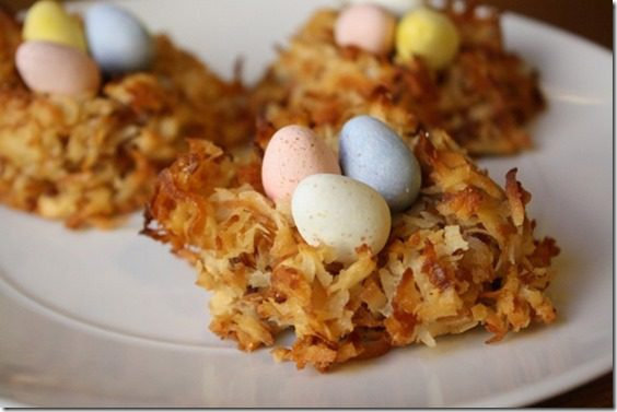 birds nest recipe for easter