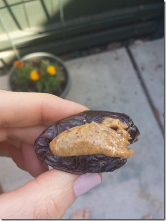 dates with almond butter 600x800 thumb Motivation Monday and Fun with my Fam