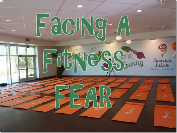 facing a fitness fear