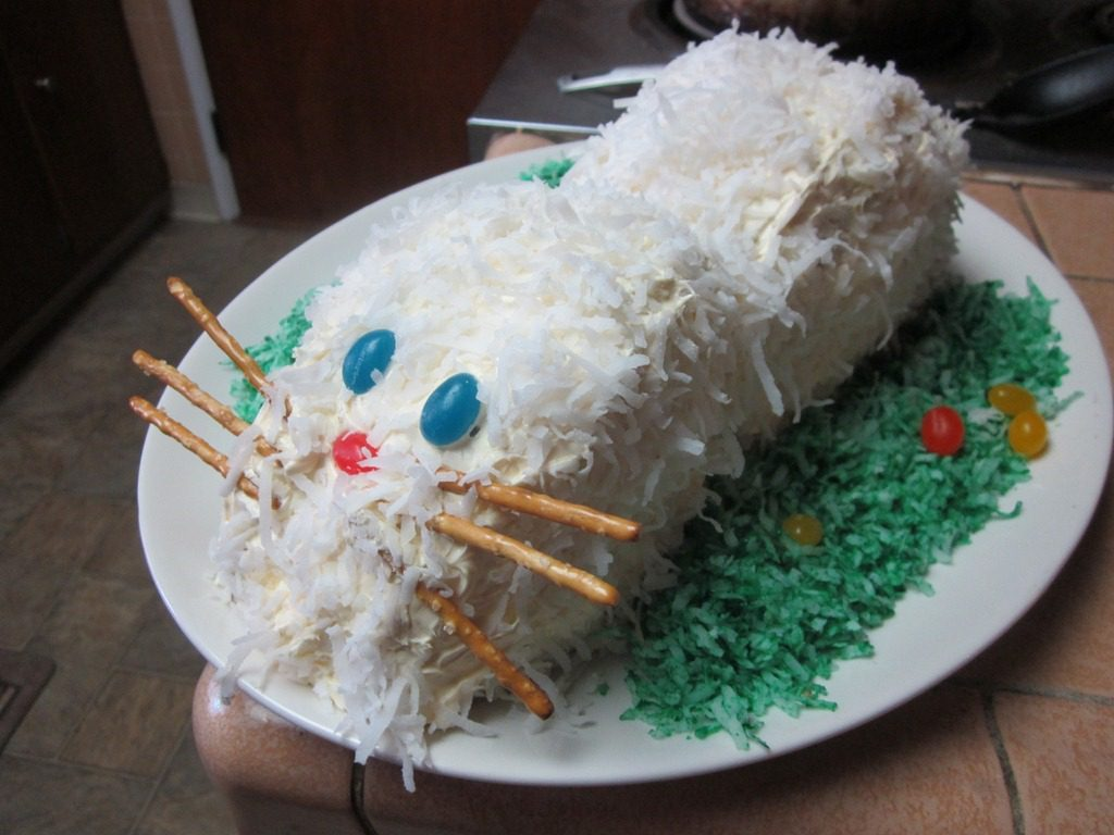 How To Make A Bunny Cake And Running In Orange County