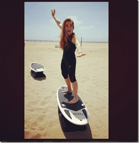 surf workout in santa monica