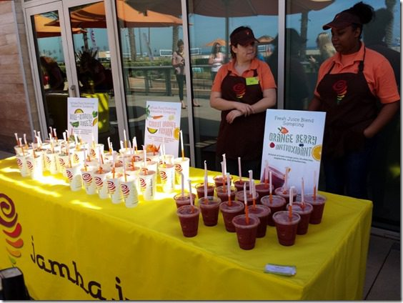 jamba juice fitness trends event 800x600 thumb Best New Fitness Classes