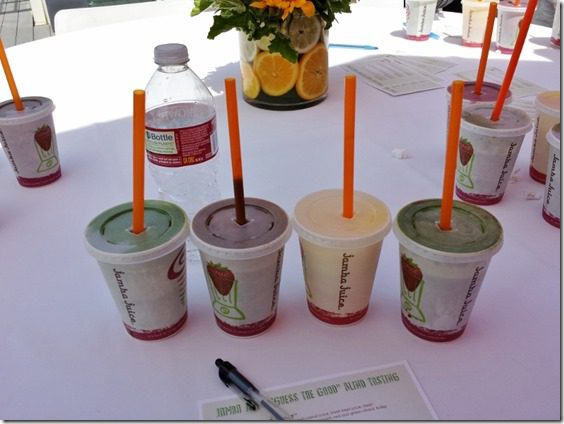 jamba juice tasting los angeles blog event 800x600 thumb Best New Fitness Classes