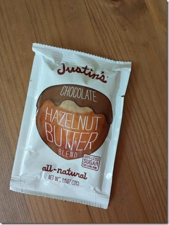 justin chocolate nut butter 800x600 thumb The Craziest Things I've Seen While Running
