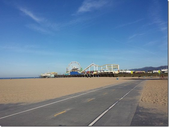 running in los angeles santa monica pier 800x600 thumb Running In Santa Monica California