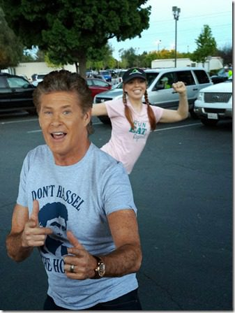 running post with david hasselhoff 409x545 thumb Weight Loss   What Youre Doing RIGHT