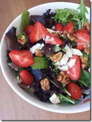 strawberry walnut salad 600x800 thumb Tempo Run without a GPS Watch