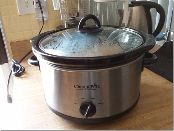 sunday set up crock pot 800x600 thumb How To Wash Compression Socks and Sunday Set Up