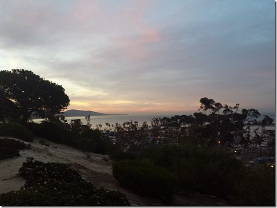 sunrise from dana point california 800x600 thumb What I Ate and Wore and Ruined Today…