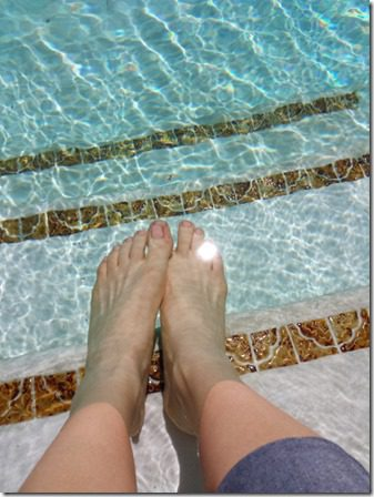 toes in the water 600x800 thumb 5 Rules of Weight Loss with a Giveaway