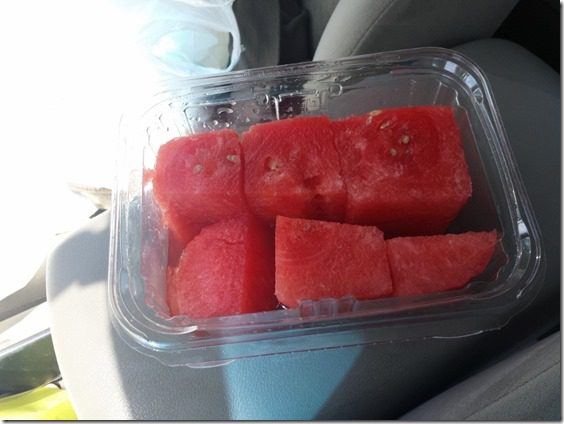 watermelon after run 800x600 thumb Avocado Half Marathon Results / Recap