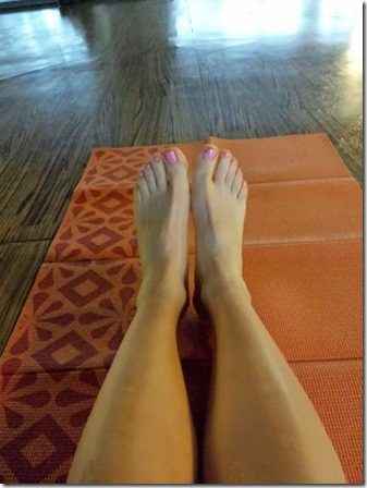 yoga toes 376x502 thumb Facing My Fitness FEAR!