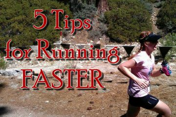 5 Tips for Running Faster