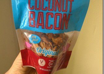 Vegan Food Review–Coconut Bacon!