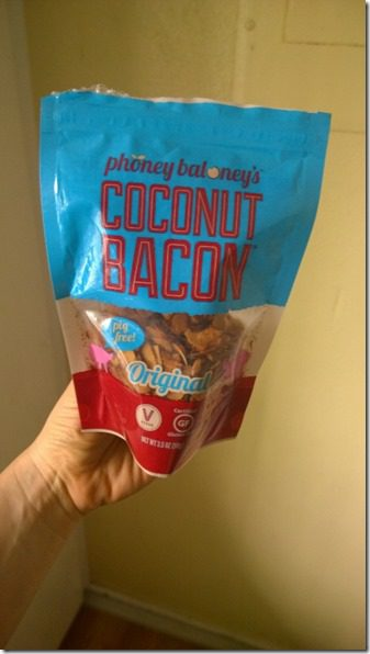 WP 20140522 10 38 06 Pro 450x800 thumb Vegan Food Review–Coconut Bacon!