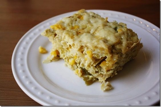chili relleno casserole thumb My Favorite Meatless Mexican Dishes