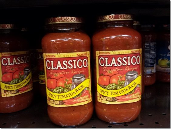 classico tomato sauce 800x600 thumb How To Find a Low Sugar Spaghetti Sauce–Weight Loss Tip