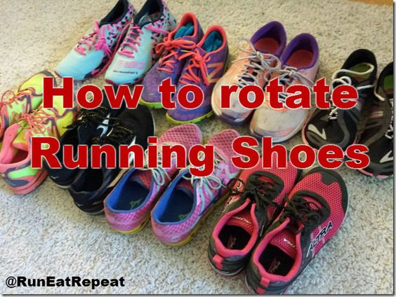 do you rotate running shoes
