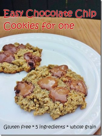 easy chocolate chip oatmeal cookie recipe