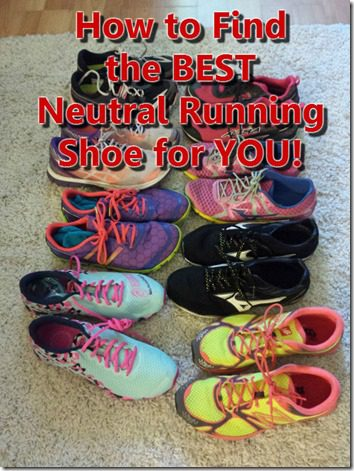 how to find the best running shoe for you