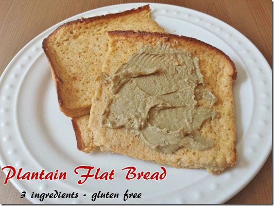 plantain flat bread recipe gluten free