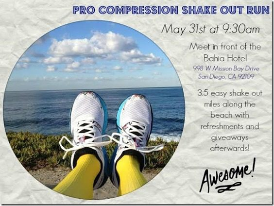 pro compression fun run 662x496 thumb ProCompression Fun Run Before Rock N Roll San Diego–all are welcome!