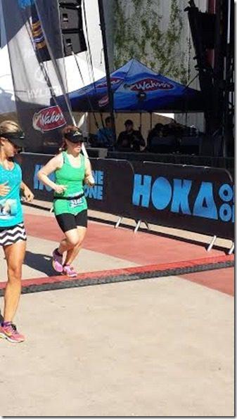 running the OC marathon