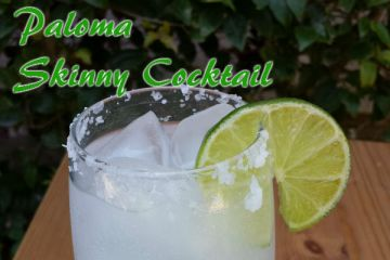 Paloma Skinny Cocktail Instead of Margaritas!