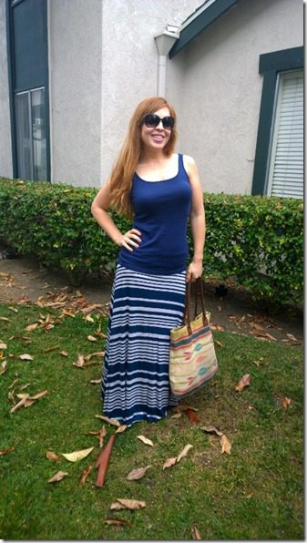 stitchfix review maxi skirt