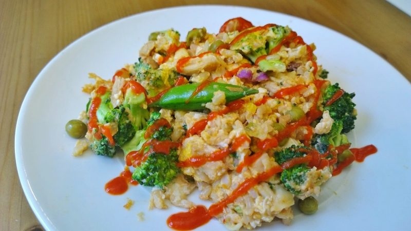 brown rice stir fry