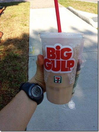big gulp iced coffee 600x800 thumb Hot Running in Florida, Again.