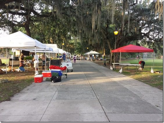 forsyth park farmers market 800x600 thumb Saturday at Fitbloggin in Seven Points…