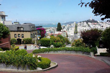Irish Coffee Created in San Francisco and Dancing on Lombard Street