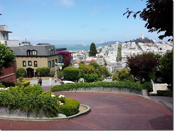 lombard street 800x600 thumb Irish Coffee Created in San Francisco and Dancing on Lombard Street