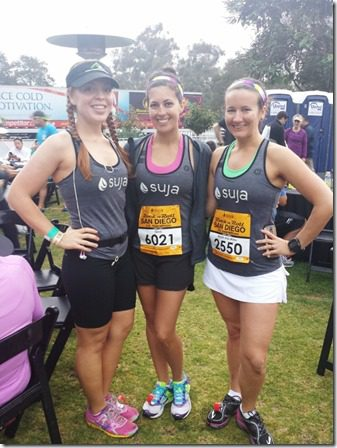 pre race with suja 600x800 thumb Suja Rock N Roll Marathon Results and Fun in SD