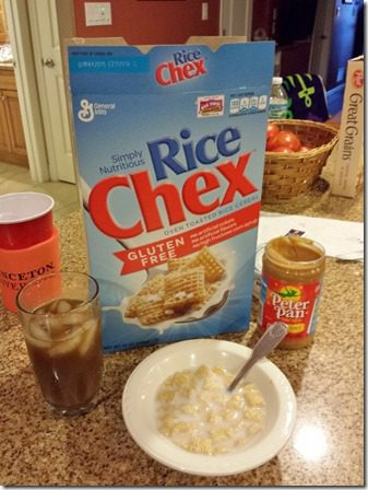 rice chex before run 600x800 thumb Hot Running in Florida, Again.