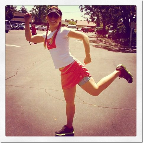 run eat repeat pose thumb National Running Day Discounts, Coupons for RUNNERS and MY Running Story