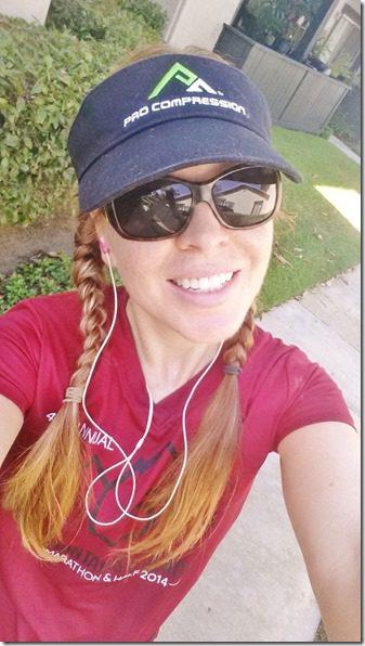 runner girl selfie get a life monican. (450x800)