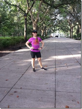 running through savannah fitbloggin 600x800 thumb Sweet Tea is Great Running Fuel–I Hope.