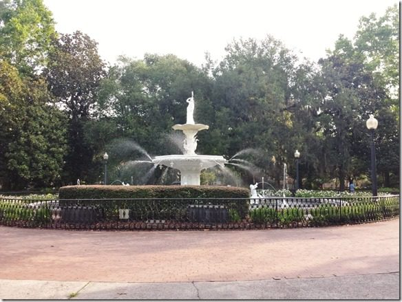 running through savannah fountain (800x600)