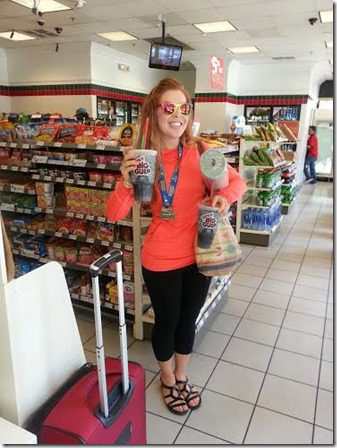 shopping after marathon 372x496 thumb Suja Rock N Roll Marathon Results and Fun in SD