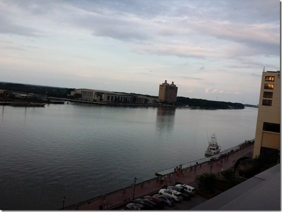 view from top deck savannah travel blog 800x600 thumb Saturday at Fitbloggin in Seven Points…