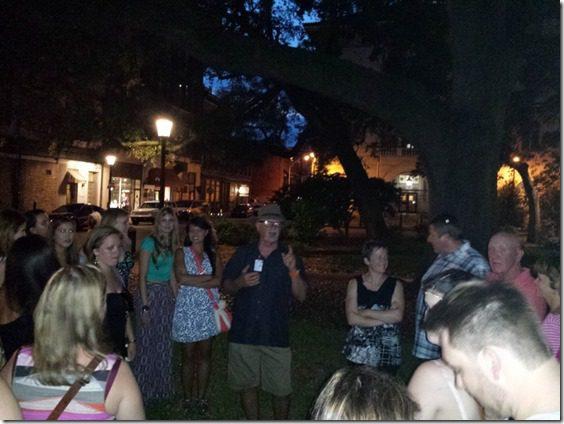 20140627 210057 800x600 thumb How to Take a Ghost Tour in Savannah   Summer Fun