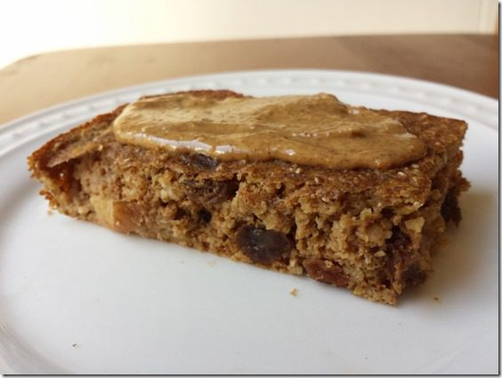 almond butter on apple chia bars 800x600 thumb Top 5 Ways to Use Almond Milk