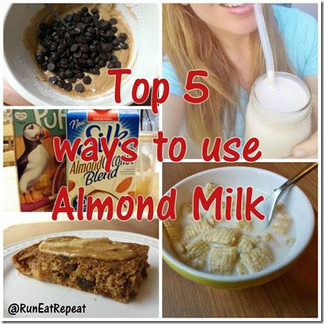 top 5 ways to use almond or coconut milk