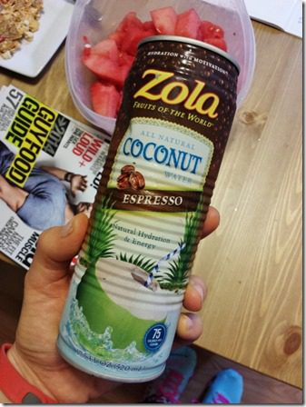 zola coconut water with espresso 600x800 thumb Coconut Water with Coffee Before Running!!!!