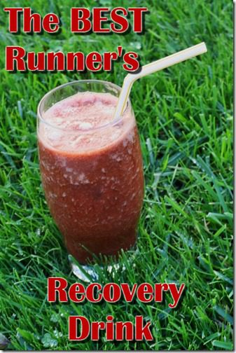 best runners recovery drink